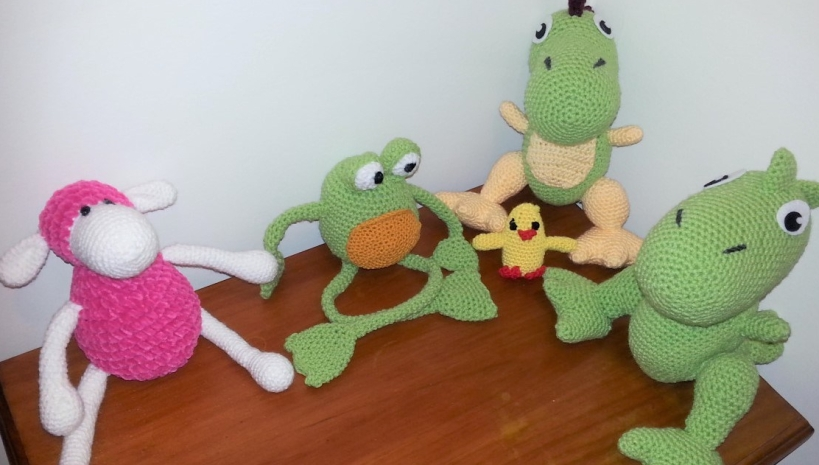 hand made crochet toys
